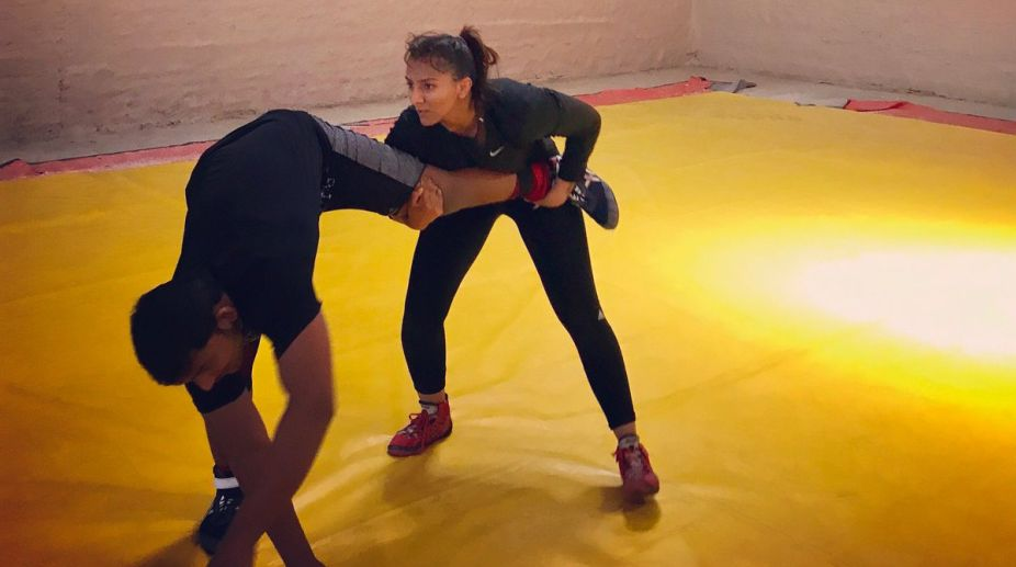 Geeta Phogat intensifies training for 2018 Commonwealth