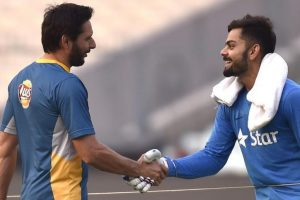 Virat Kohli sends Shahid Afridi 'special retirement gift' from India