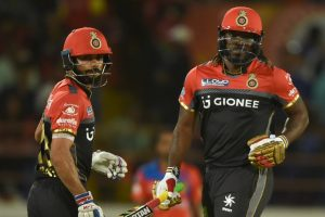 IPL 2017: History-maker Chris Gayle happy to have Virat Kohli by his side