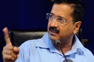 Don't waste votes on Congress, says Kejriwal