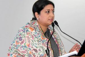 Popularity of TMC, other parties declining in Bengal: Smriti Irani