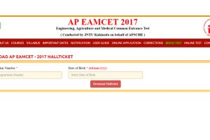 APEAMCET 2017 admitcard/halltickets available for download at sche.ap.gov.in | Download now