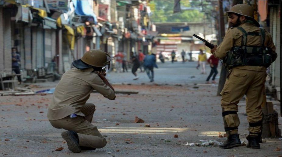 plastic bullets, Lok Sabha, Jammu and Kashmir, Pellet guns, Hansraj Gangaram Ahir