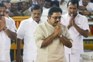 TTV Dinakaran launches hunger strike over Cauvery Board