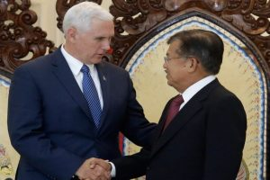 Mike Pence begins Indonesia visit focused on trade, security