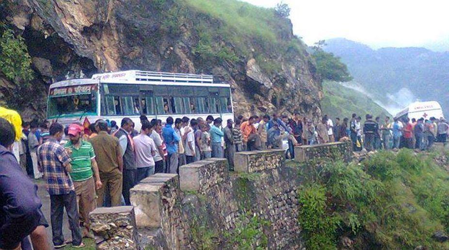 Four Class X students among five killed as bus hits rickshaw