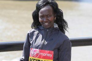Kenya's Mary Keitany eyes marathon world record in London
