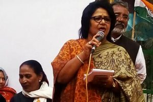 Expelled Congress leader Barkha Singh to join BJP