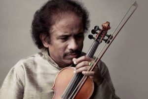 L Subramaniam performs with Egyptian harpist at gig in Cairo