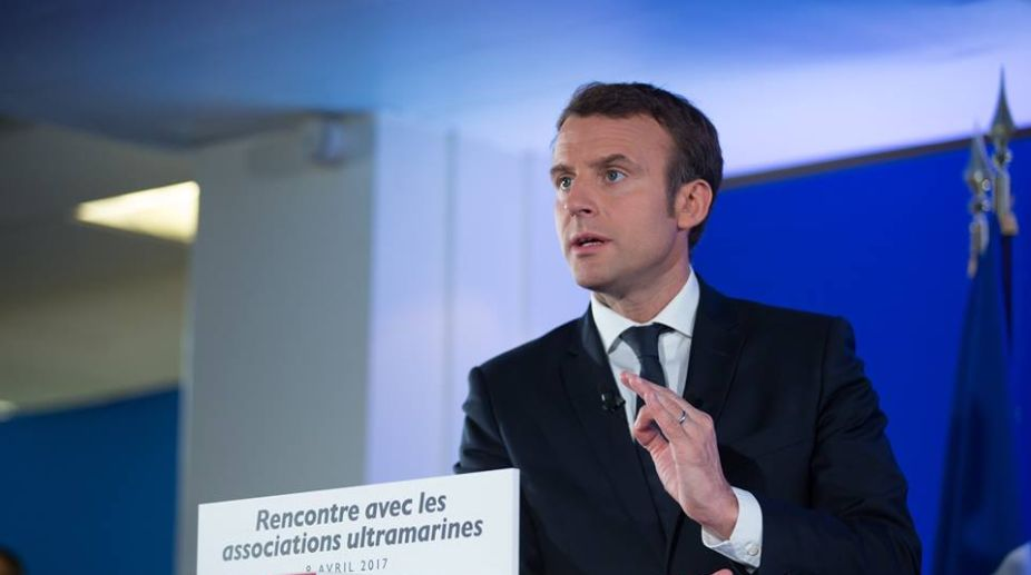 French President, Emmanuel Macron, Narendra Modi, India