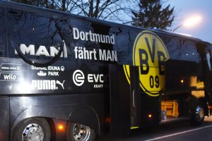 Man arrested over attack on Borussia Dortmund team bus