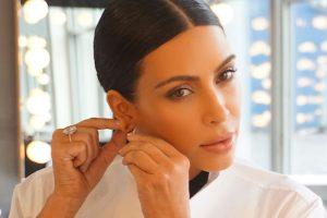 Kim Kardashian cries on DeGeneres's show