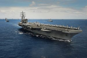 USS Carl Vinson to arrive in Sea of Japan by April end