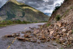 Badrinath highway blocked by landslide