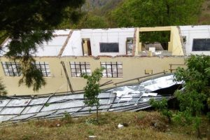 Students survive scare as wind blows off school roof in Almora
