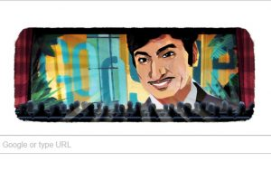 Google doodle celebrates Rajkumar's birthday