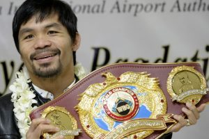 I'm not done yet in boxing, says Manny Pacquiao