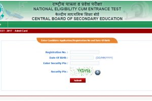 Download CBSE NEET 2017 admit card at www.cbseneet.nic.in | NEET website working properly