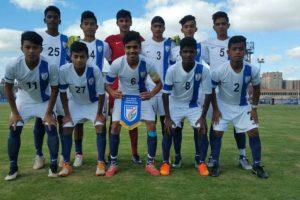 India U-16 team beats Smouha Club in 2nd football friendly