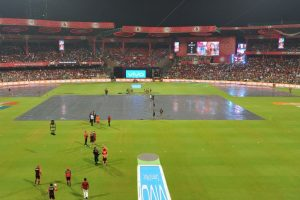 IPL 2017: RCB, SRH share points after rain wash-out