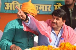 Delhi night shelters in poor condition: Manoj Tiwari