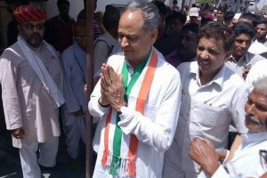 Why is PM Modi re-laying foundation stone of Barmer refinery, asks Gehlot