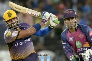 Robin Uthappa hits IPL-best knock as KKR beat Pune to top points table
