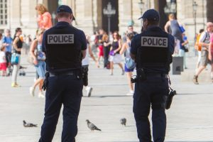 2 policemen injured in French island shooting
