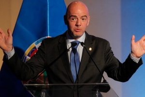 FIFA chief Gianni Infantino congratulates Aizawl on winning I-League