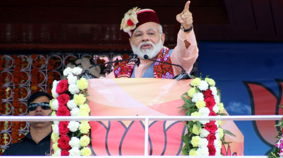 PM Modi, Himachal Pradesh, Virbhadra Singh,