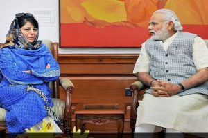 Initiate peace talks with Pakistan, Mehbooba Mufti urges PM Modi