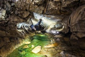 Human DNA discovered in caves without skeletal remains
