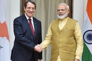 India, Cyprus sign 4 agreements