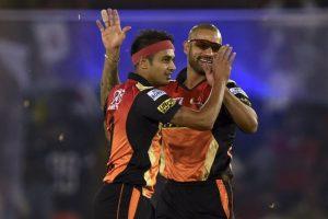 IPL 2017: Siddarth Kaul, Shikhar Dhawan shine as SRH beat KXIP by 26 runs