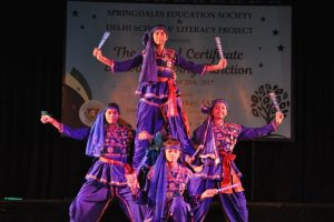 Delhi schools light the lamp of literacy
