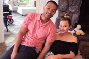 John Legend emotional while honouring wife Chrissy Teigen