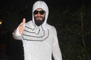 Ranveer Singh's deliberate faux pas