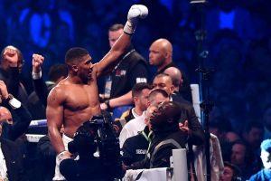 Anthony Joshua defeats Wladimir Klitschko in world heavyweight epic