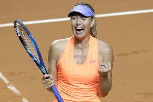 Happy Maria Sharapova hunts more tests on doping comeback