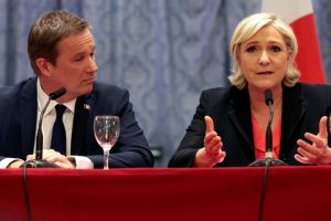 Le Pen proposes two-currency system as 'euro is dead'