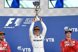 F1: Valterri Bottas pips Ferrari duo to Russian GP title