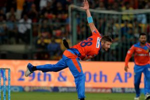 Gujarat Lions pacer Andrew Tye ruled out of remainder of IPL