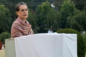 Hospitalised for food-poisoning, Sonia stable, recovering well