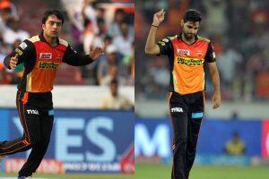 Sunrisers bet on Bhuvneshwar-Rashid duo ahead of Delhi encounter
