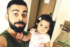 IPL 2017: Virat Kohli's beard makes Harbhajan's daughter 'curious'