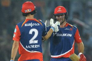 Delhi Daredevils stay alive in IPL after 6-wicket win over Sunrisers Hyderabad