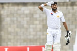 West Indies respond after Azhar Ali ton, Misbah-ul-Haq out for 99