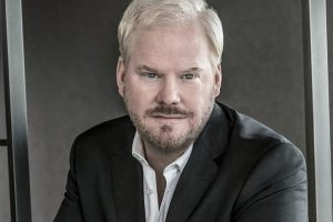 Jim Gaffigan's wife recovering after brain tumour surgery