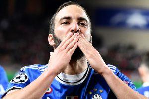 UCL: Gonzalo Higuain puts Juventus in command against Monaco