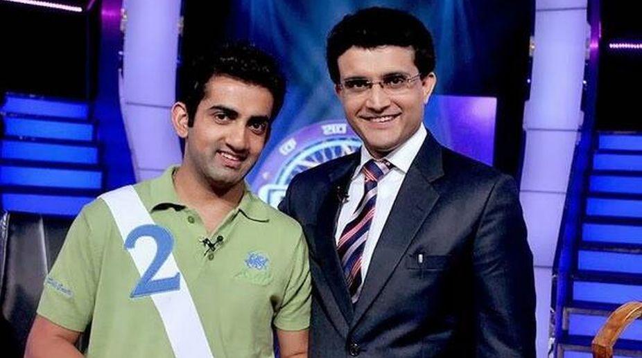 Sourav Ganguly bats for Gautam Gambhir in ICC Champions Trophy